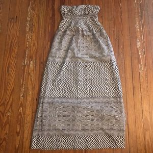 Anthropologie Edme & Esyllte tribal Maxi dress sz2